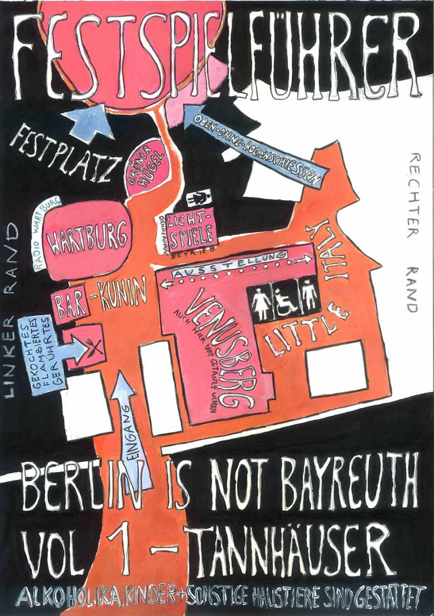BERLIN is not BAYREUTH Berlin is not Bayreuth